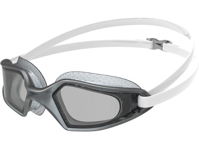 speedo Hydropulse Masque, white/elephant/light smoke